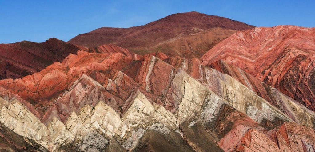 Montanhas em Salta, norte argentino