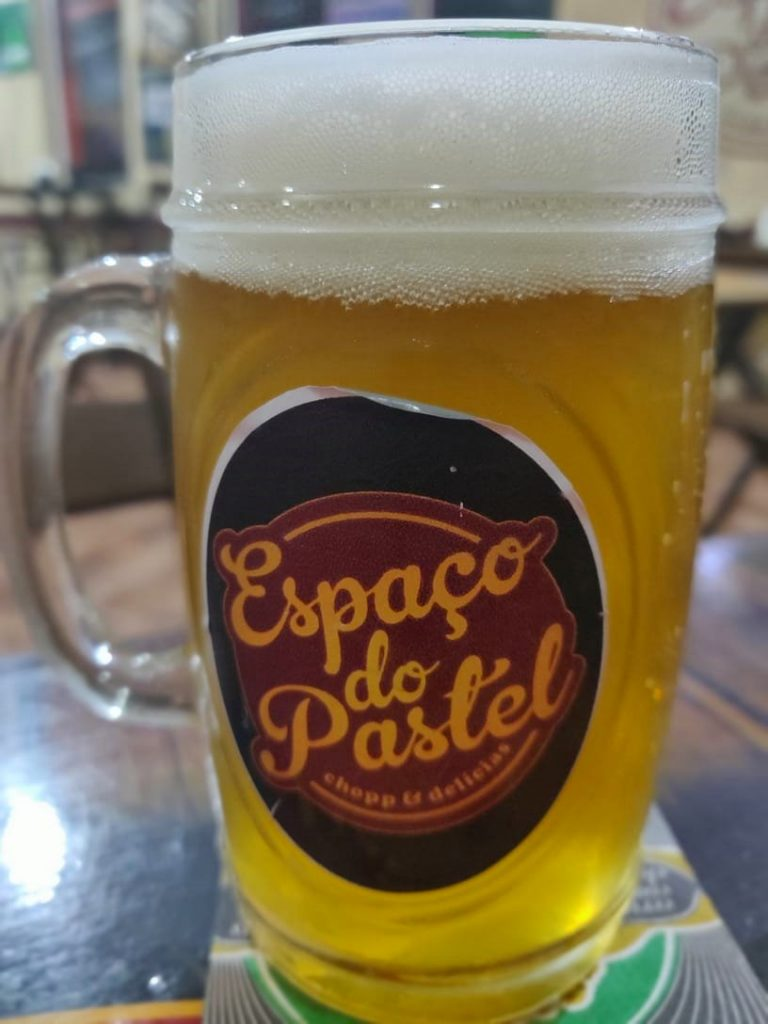 Chopp Weiss da Brotas Beer - Espaço do Pastel - Brotas SP
