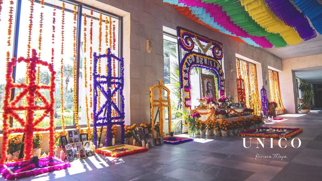 UNICO 20º87º Hotel Riviera homenageia o Día de Los Muertos
