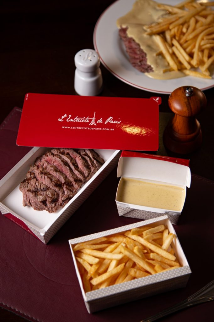 Restaurantes para pedir comida via delivery: L'Entrecôte de Paris
